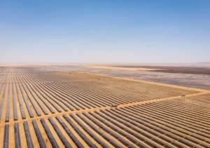 В пустелі Сахара запустили найбільшу в світі сонячну електростанцію потужністю 1,5 ГВт